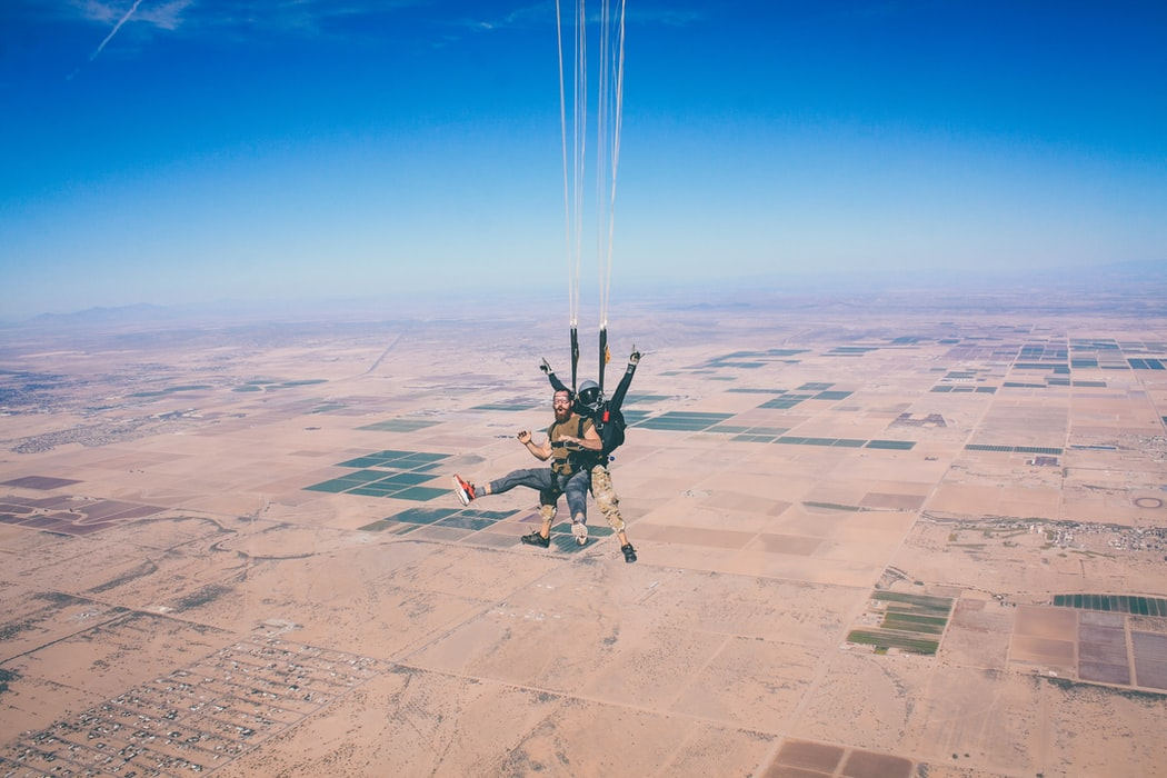 skydiving cost for tandem jump near tampa fl